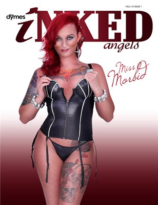 504Dymes Inked Angels Vol. 2 - Miss Morbid Collector's Edition