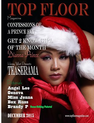 Top Floor December 2015 w/Bonus Pictorial Brandy