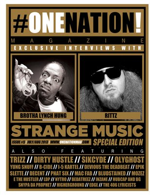 #OneNation! Magazine #5 July/Aug STRANGE MUSIC SPECIAL EDITION