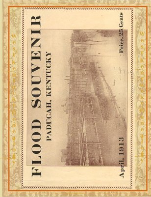 1913 Paducah, Kentucky Flood Booklet