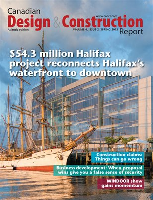 Canadian Design and Construction Report (Atlantic Edition) Spring 2013