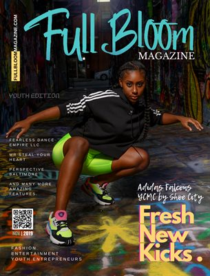 Full Bloom Magazine Youth Issue, Nov 2019