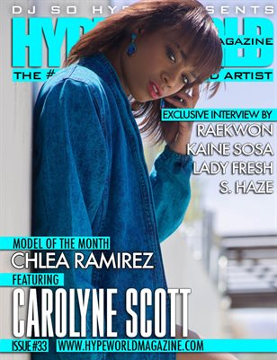 DJ SO HYPE PRESENTS THE HYPE WORLD MAGAZINE ISSUE #33