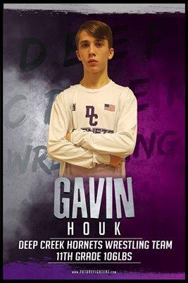 Gavin Houk DC #2 Poster