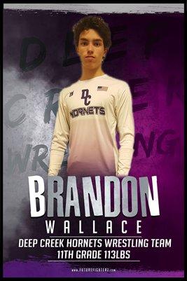 Brandon Wallace DC #2 Poster