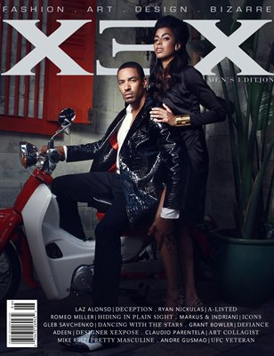 XEX Magazine: Men's Edition - Laz Alonso