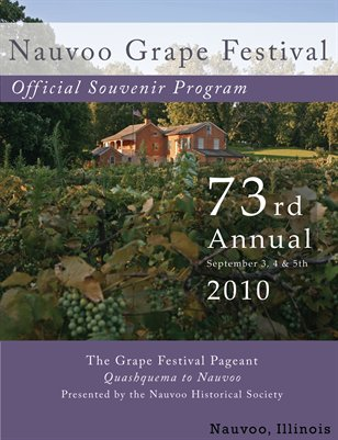 Nauvoo Grape Festival Program 2010
