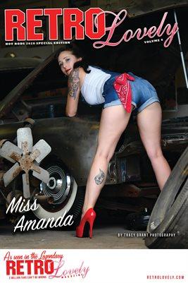 Miss Amanda Cover Poster