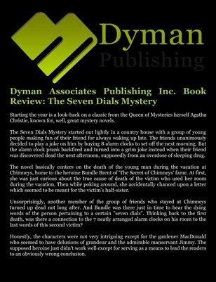 Dyman Associates Publishing Inc. Book Review: The Seven Dials Mystery