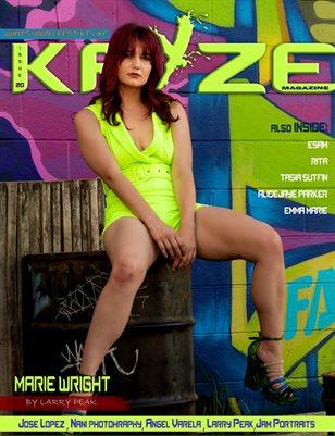 Kayze Magazine issue 20 (marie wright)
