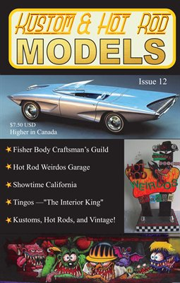 Kustom and Hot Rod Models Magazine - Digest Issue 12