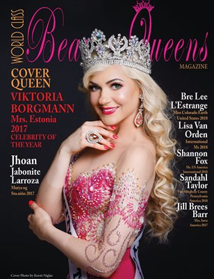 World Class Beauty Queens Magazine, Issue 51, Viktoria Borgmann