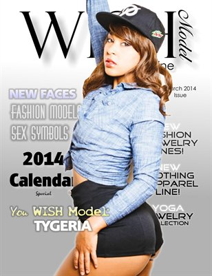 WISH Model Magazine - March 2014 Issue