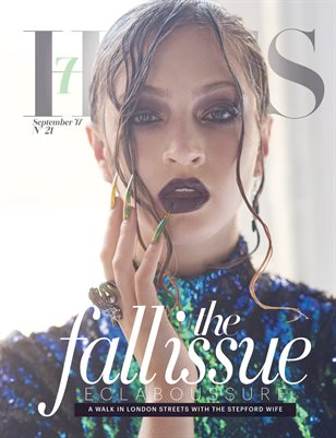 7Hues Issue #21 - Fall II 2017 - Cover III