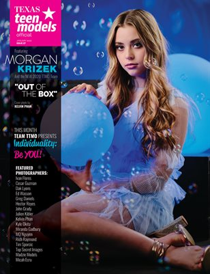 Texas Teen Models Official Magazine - January 2020 - Vol. 27