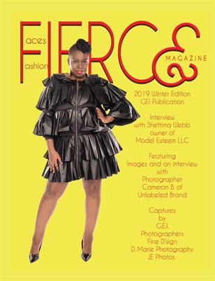Fierce Faces & Fashion Magazine Q1 2019
