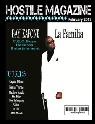 Hostile Magazine February 2013 Issue