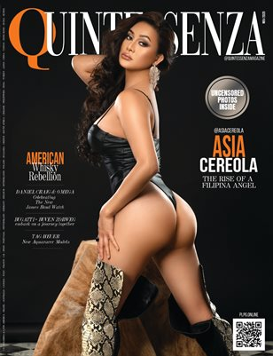 QUINTESSENZA Magazine - ASIA CEREOLA - Nov/2020 - Issue 12