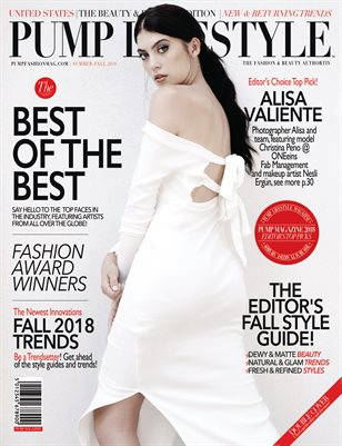 PUMP Lifestyle - The Beauty & Fashion Edition | October 2018 Vol.3