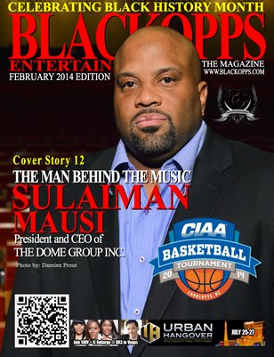 BlackOpps Entertainment Magazine - February 2014 Edition