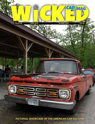 WICKED CAR MAG - JUNE - 1964 FORD F-100
