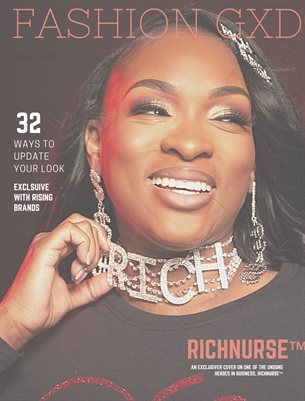 "Fashion Gxd Magazine ""RichNurse"""