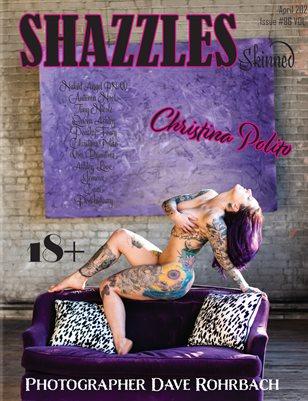 Shazzles Skinned Issue #96 VOL 1 Cover Model Christina Polito.