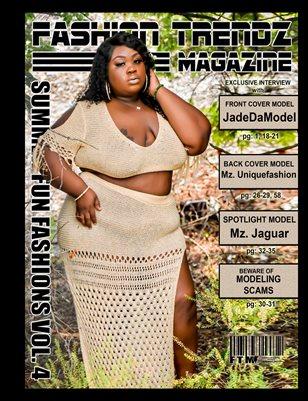 Fashion Trendz Magazine Summer Fun Fashions Vol. 4
