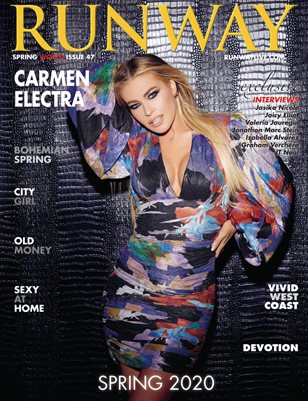 RUNWAY magazine 2020 Spring