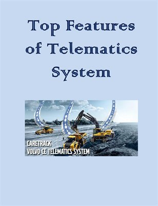 Top Features of Telematics System