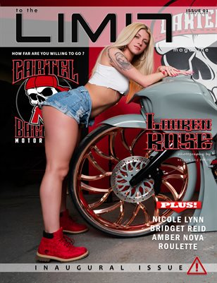 to the LIMIT Magazine 01 Ft. Lauren Rose