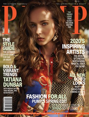 PUMP Magazine - March 2020 - Special Edition Spring Fashion V2