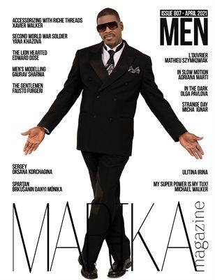 MARIKA MAGAZINE MEN (ISSUE 807 - APRIL)