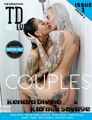 TDM wet lust Couples Kendra Divine & Kaybull Savage issue 1 cover 2