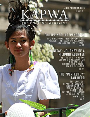 Kapwa Magazine: Issue 1 - July/August 2015