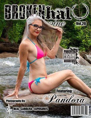 Broken Halo Magazine Vol.20 featuring Pandora photography by Real Carolina Exposures