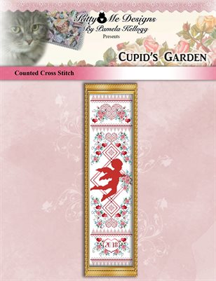 Cupids Garden Cross Stitch Pattern