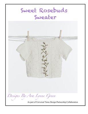 Sweet Rosebuds Sweater