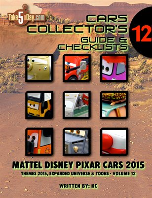 Themes 2015 CARS Yearbook: Complete Visual Checklist & Guide