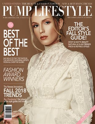 PUMP Lifestyle - The Beauty & Fashion Edition | October 2018 Vol.1