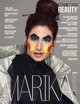 MARIKA MAGAZINE BEAUTY (ISSUE 670 - MARCH)