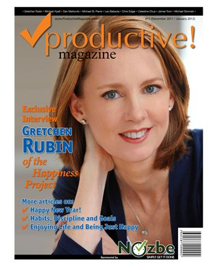 Gretchen Rubin of the Happiness Project
