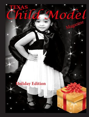 Texas Child Model Magazine Holiday Edition