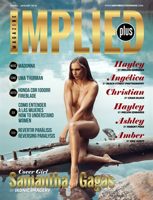IMPLIED  PLUS MAGAZINE JANUARY 2018