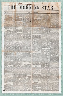 (Pages 1-2) The Morning Star, June 12, 1859, Dover, New Hampshire