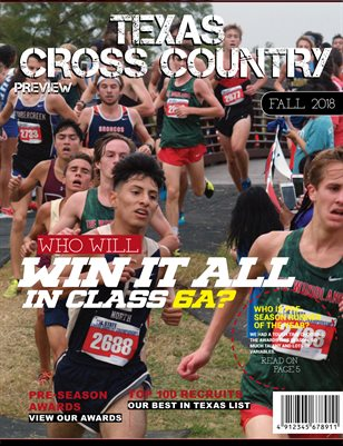 2018 Texas Cross Country Preview - 6A