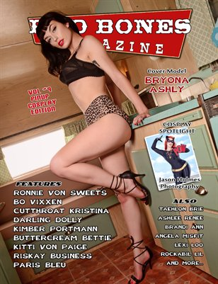 BAD BONES MAGAZINE #9 Pinup Cosplay Edition