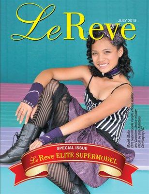 LeReve July'15 Elite Supermodel Special Issue