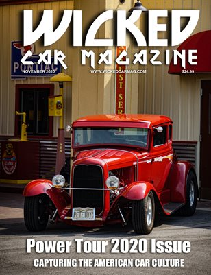 WICKED CAR MAGAZINE NOVEMBER ISSUE FORD MODEL A