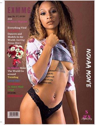 ExMoneyMagazine Starring Nova Mone